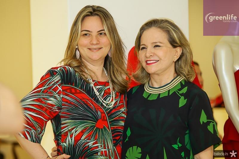 Soarya Pinheiro e Natercia Jereissati