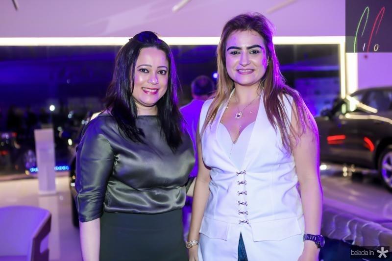 Miguelina Queiroz e Ingrid Bessa