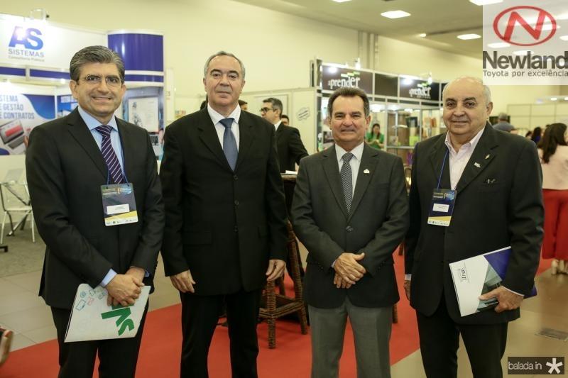 Luis Mario Vieira, Eduardo Menese, Felipe Notegan e João Nogueira
