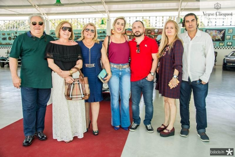 Marcos Ferraz, Divane Ferraz, Dione Oliveira, Telma Ferraz, Francisco Lisboa, Mirtes Graneiros e Marcelo Graneiros