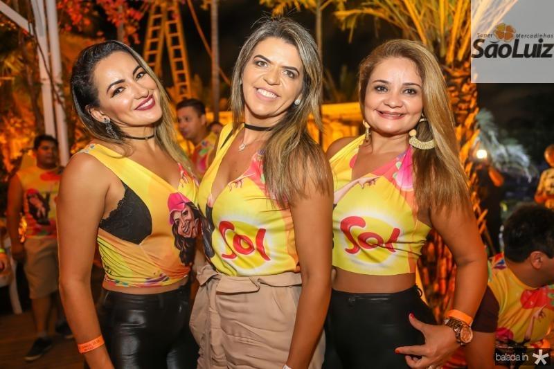 Marcia Feitosa, Amalia Ribeiro e Carla Arruda