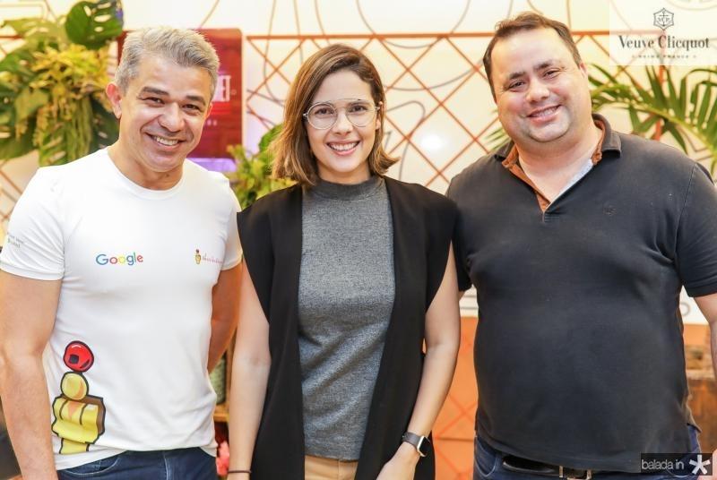 Washingtom Macedo,Joana Ramalho e Ricardo Dreher