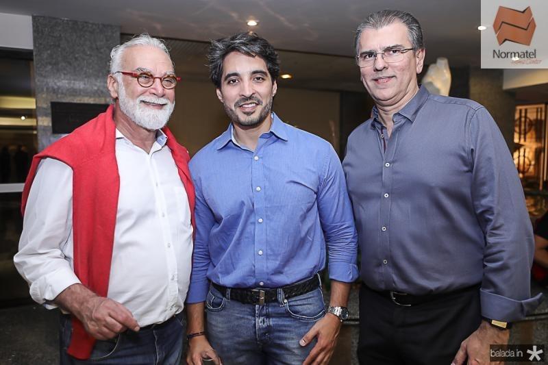 Ricardo Ribenboin, Rodrigo Porto e Randal Pompeu