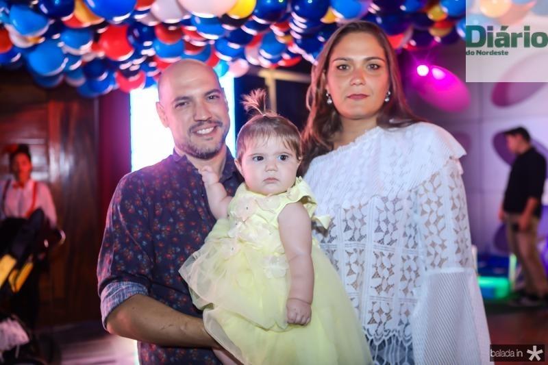 Rafael, Tereza e Ticiana Patricio