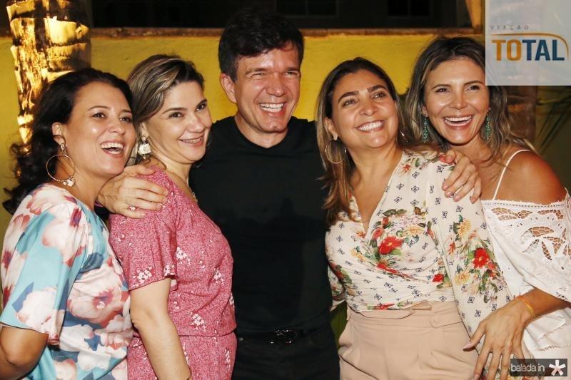 Vivi Rocha, Ana Beatriz, Waldonys, Joselma Macedo e Regina Brito
