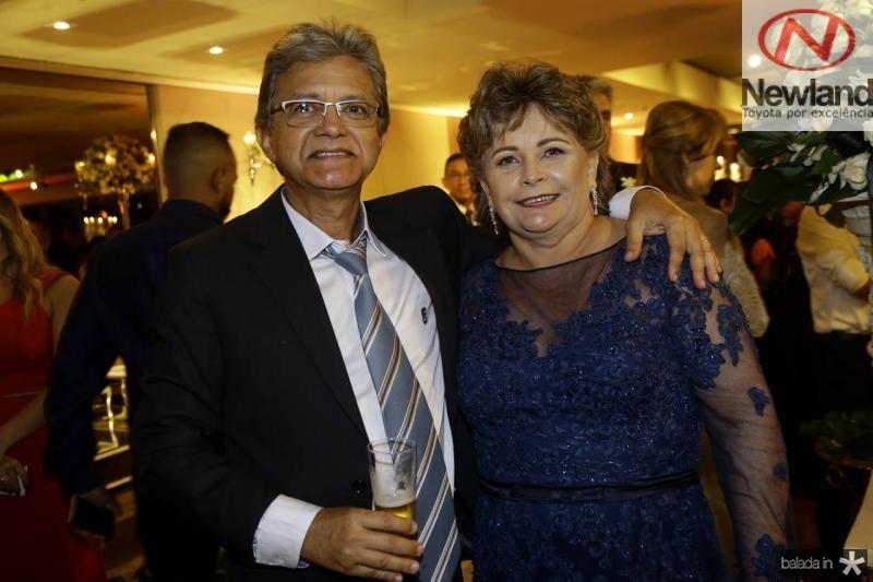 Ronaldo e Tania Carneiro