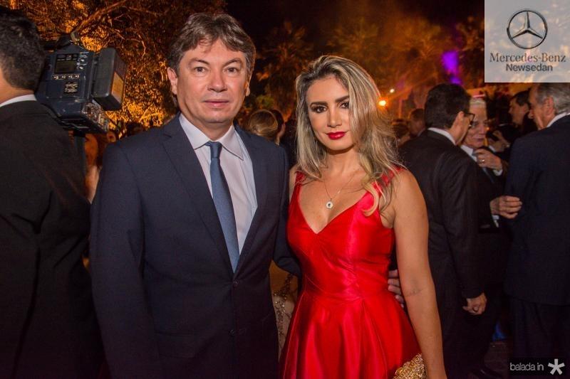 Edgar Gadelha e Jaqueline Maia