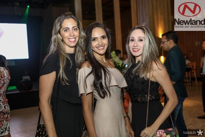 Luciana Granjeiro, Suelen Campos e Lidiane Nogueira
