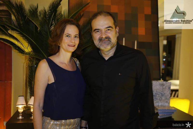Jussara Regas e Bosco Couto