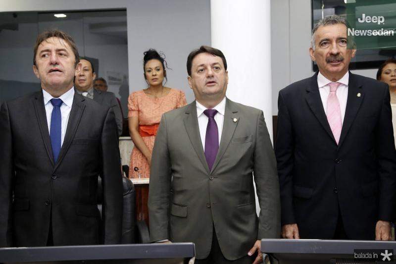 Adail Junior, Benigno Junior e Artur Bruno