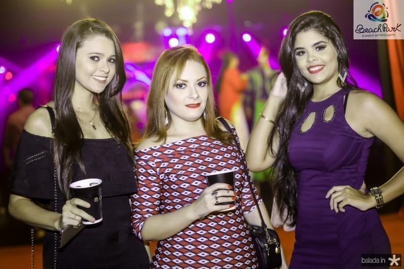 Natalia Farias, Isabelle Pedrosa e Carolina Pedrosa