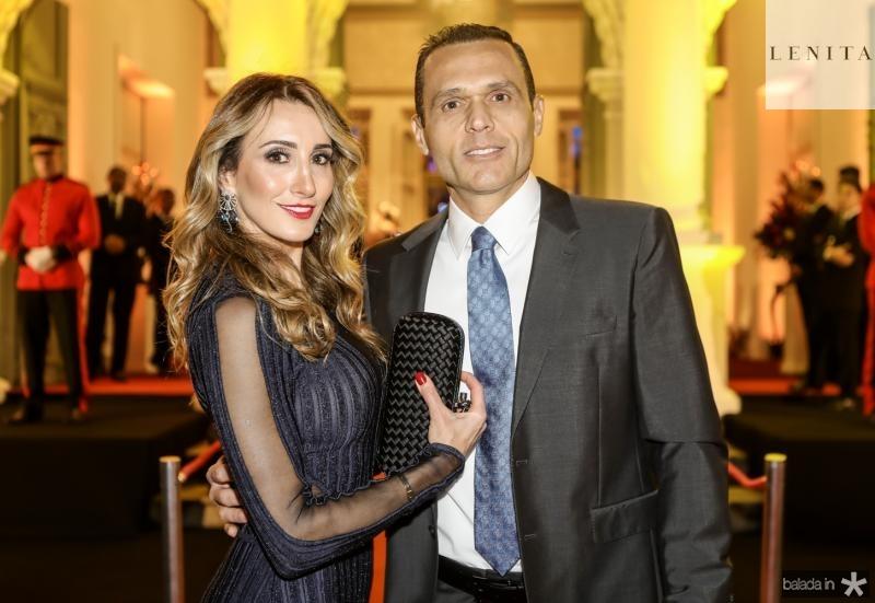 Melaine e Eduardo Diogo