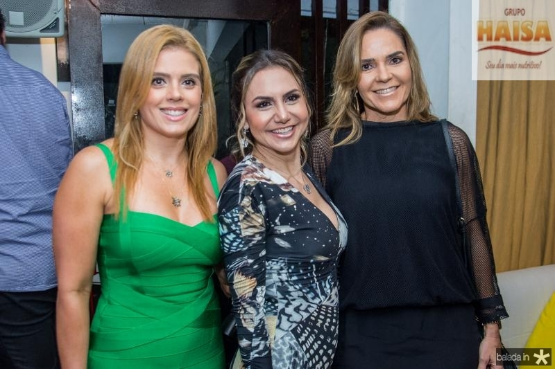 Leticia Studart, Adriana Queiroz e Rafaela Pinto
