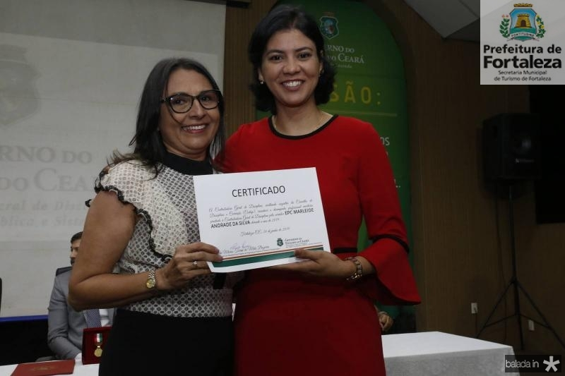 Marleide Andrade e Reny Sales
