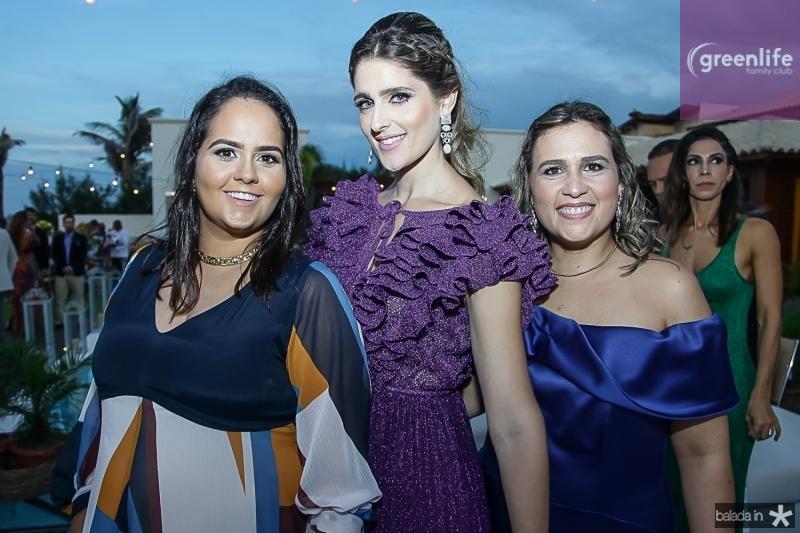 Carolina, Rebeca e Ana Leal