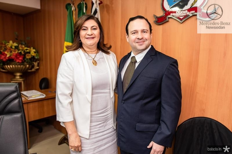 Natercia Campos e Igor queiroz Barroso
