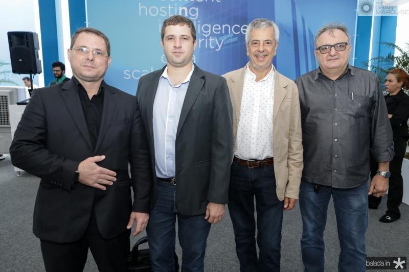 Marcos Frota, Mauricio Dourado, Eduardo Grizendy e Osman Lima