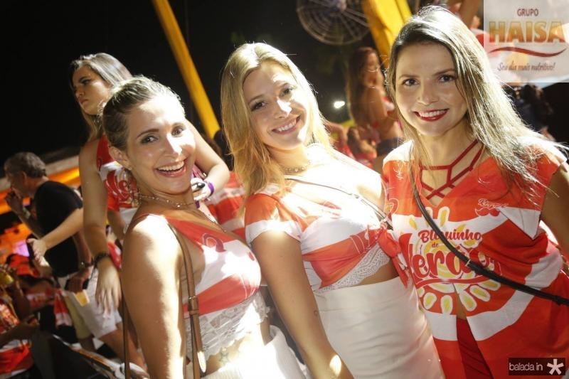 Rafaela Martins, Fernanda Faleiro e Soraima Leite