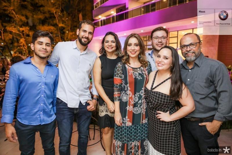 Lincoln Linhares, Rene Pinheiro, Cristianne Carla, Tatiana Brasil, Satila Bezerra, Raphael Castro e Fabio Pereira