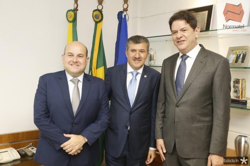 Roberto Claudio, Antonio Henrique e Cid Gomes 1