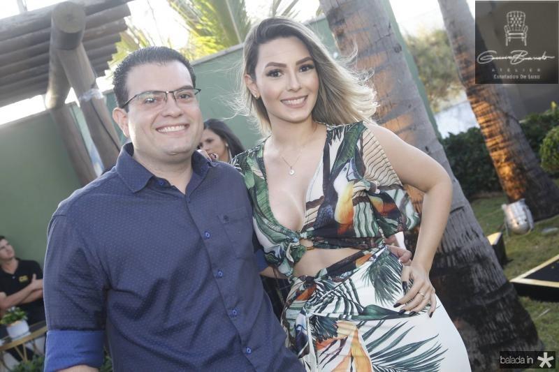 Rafael Albuquerque e Aline Guimaraes