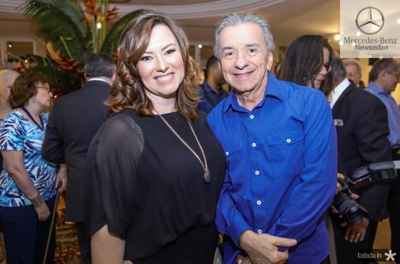 Aline Barroso e Majela Felix