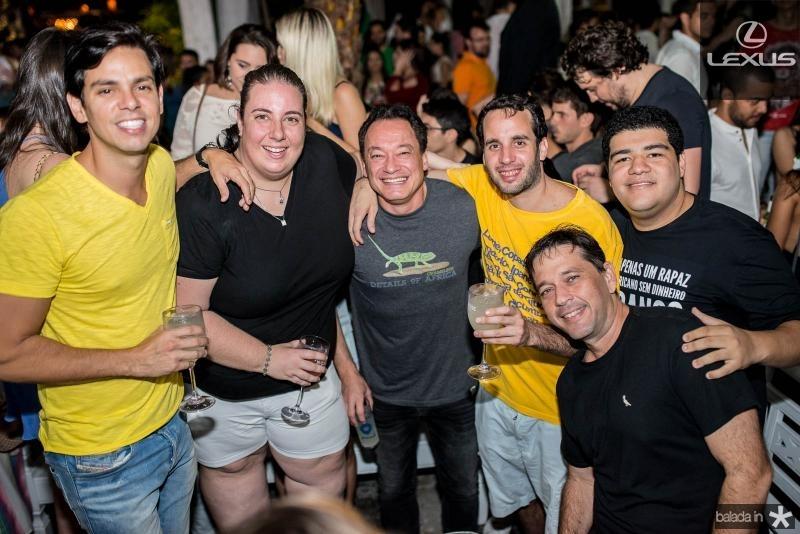Italo Girao, Clara Franck, Pedro Coelho, Ze Ricardo, Anderson Queiroz e Andre Camurca