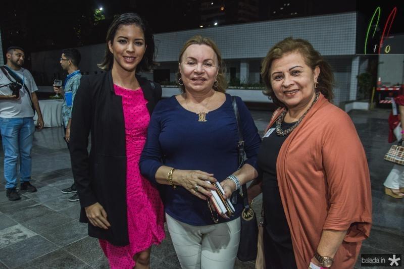Sabrina Veras, Gorete Pereira e Silvana Frota