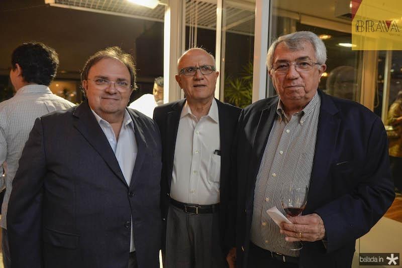 Manoel Macedo, Jaque Golderberg e Roberto Macedo