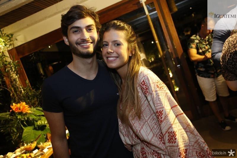 Pedro Demetrius e Carolina Daglio