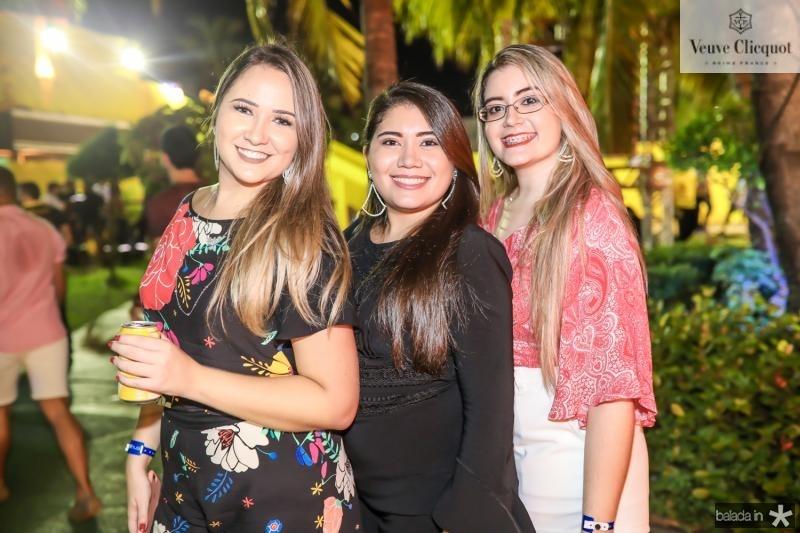 Anne Ingrid, Luana Lima e Amanda Lima