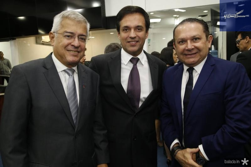 PC Noroes, Fernando Novaes e Max Bezerra