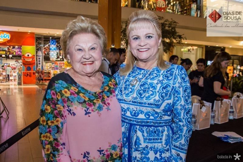 Ivone Reboucas e Excelsa Costa Lima