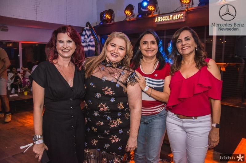 Ivana Cabral, Rosa Maria, Nidila Rocha e Ana Claudia Uchoa