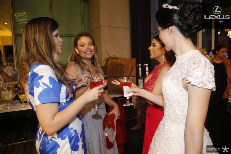 Jamilly Rodrigues, Luciane Rocha, Gabrielle Brandao e Lorena Aragao