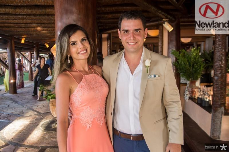 Mariana Nogueira e Eduardo Vilela
