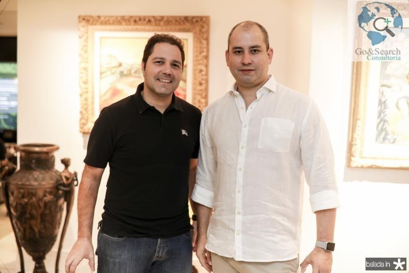 Fernando Diniz e Andre Linheiro