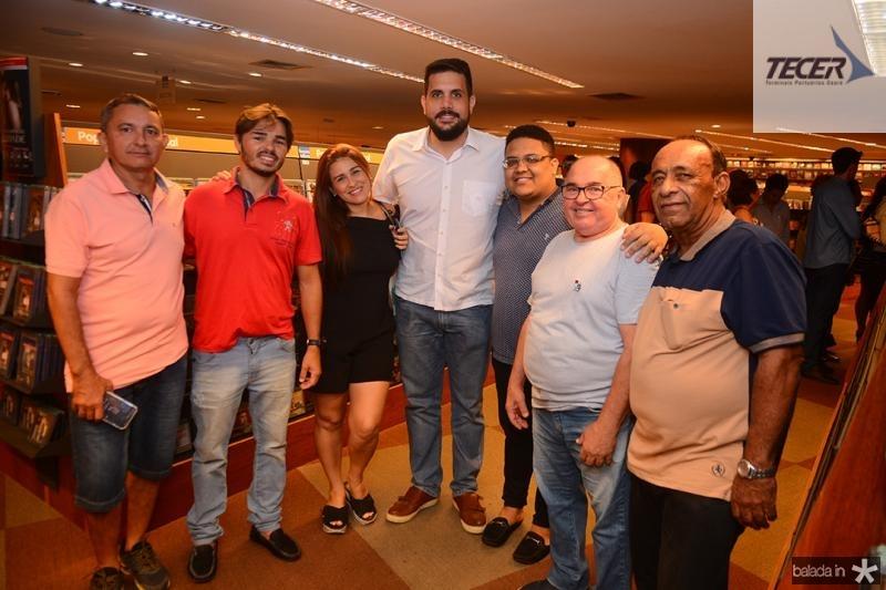 Cristiano Mariz, Sergio Junior, Cris Cunha, Matheus Batista, Vitinho, Serginho, Cicero Inacio,