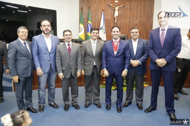 Anastacio Marinho, Waldir Xavier, Bruno Carrah, Daniel Aragao, Thiago Asfor, Fabio Timbo e Adriano Costa