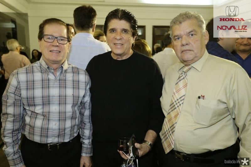 Joao Borges, Dito Machado e Carlos Juacaba