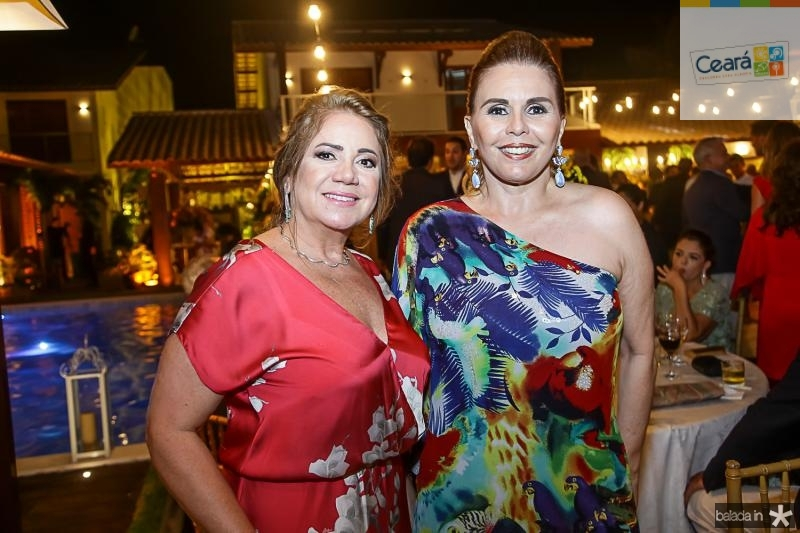 Margareth Leal e Marilia Studart