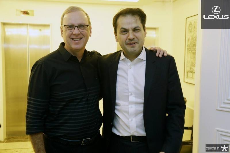 Carlos Moreira e Mauricio Maia