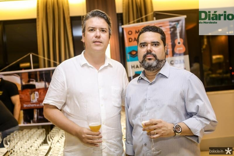 Carlos Uchoa e Felipe Calvet