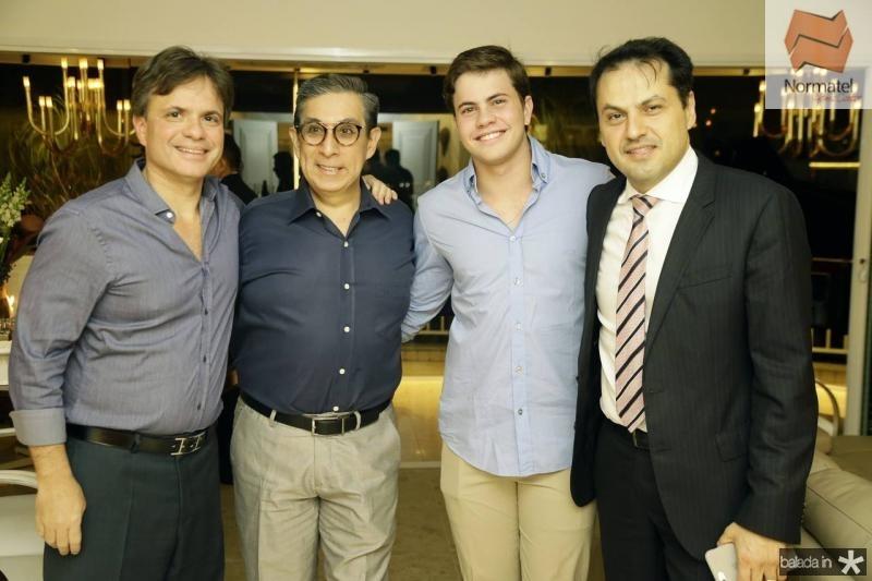 Andre Juca, Javier Yugar, Diego Juca e Mauricio Maia