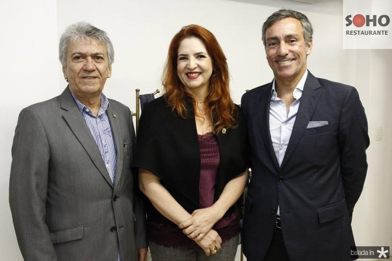 Clovis Nogueira, Enid Camara e Nuno Rebelo