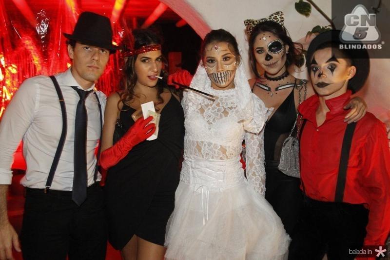 Thiago Nejm, Carolina Uchoa, Renata Saudanha, Larissa Rosado e Jorge Lucas