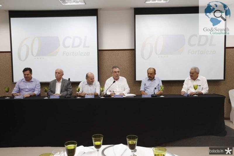 Samuel Dias, Freitas Cordeiro, Roberto Claudio, Assis Cavalcante, Honorio Pinheiro e Adail Fontenele