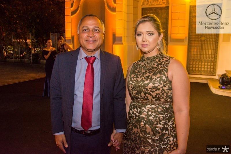 Erivaldo Xavier e Isabel Travasso