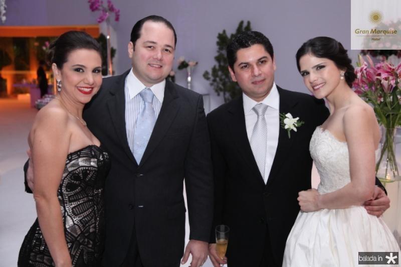 Os Noivos com Adriana e Otavio Queiroz