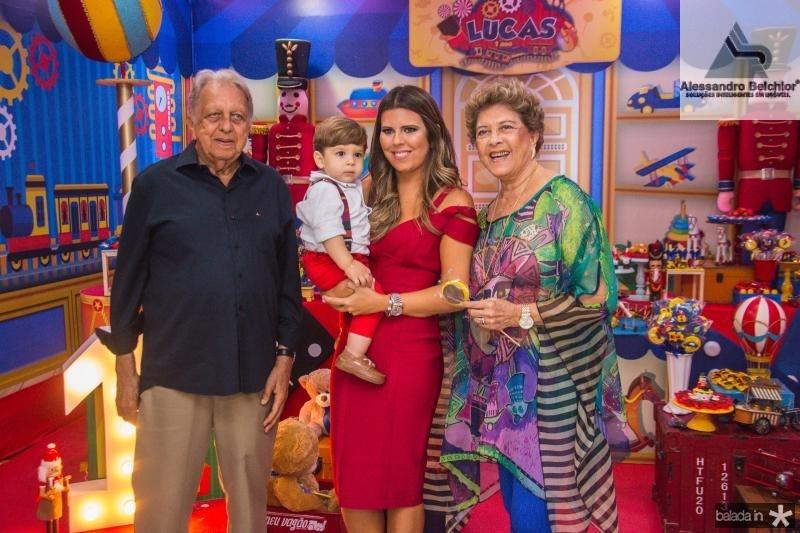 Roberto Bastos, Lucas Albuquerque, Marina Albuquerque e Vera Tigre